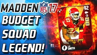 Download BUDGET SQUAD LEGEND FLASHBACK! SEAN SMITH! - Madden 17 Ultimate Team Video