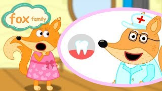 Download Fox Family and Friends new funny cartoon for Kids Full Episode #107 Video