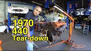 Download 1970 Challenger Original 440 Tear Down - Project Kowalski Begins Video