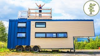 Download This Big Modern Tiny House is Pure Luxury - Full Tour in 4K Video