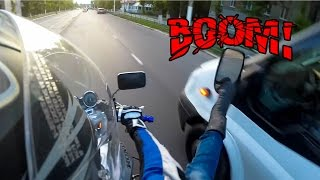 Download BIKERS SMASHING MIRRORS COMPILATION & ROAD RAGE | [Ep. #69] Video