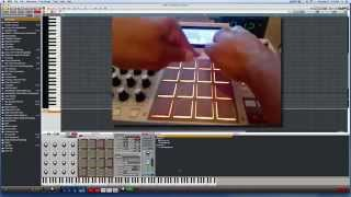 Download Akai MPC Tutorial - How to play Single Notes & Chords w/ MPC Pads Video