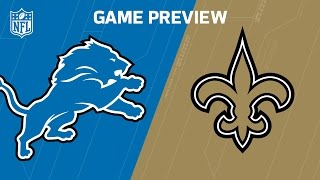 Download Lions vs. Saints (Week 13 Preview) | Around the NFL Podcast | NFL Video