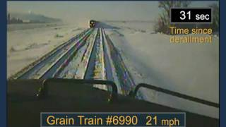 Download BNSF Railway Train Derailment and Subsequent Train Collision Video