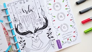 Download Plan with Me December 2016 | Discbound Bullet Journal Video