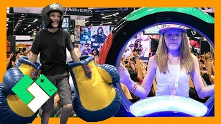 Download FUN AND GAMES IN THE EXPO HALL (Day 1547) | Clintus.tv Video