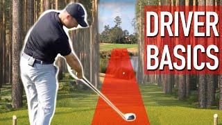 Download Driver Basics For Longer Straighter Golf Shots Video