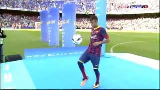 Download Neymar's Presentation in Barcelona (FULL PRESENTATION) Video