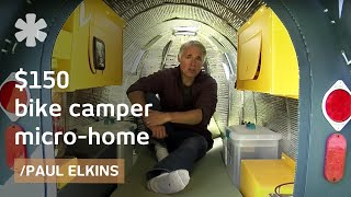 Download $150 bike camper: DIY micro mobile home (downloadable plans) Video