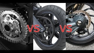 Download Cadena vs banda vs cardan en una moto Ventajas y desventajas. Video