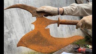 Download Get help a broken Axe Restoration   Ax Metal castings old China Restoration Video