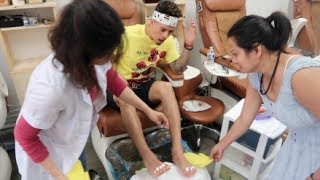 Download **DARE** BOYFRIEND GETS NAIL POLISH ON HIS TOES!!! Video