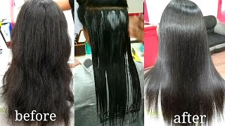 Download hair smoothening tutorial in Hindi (step by step) Video