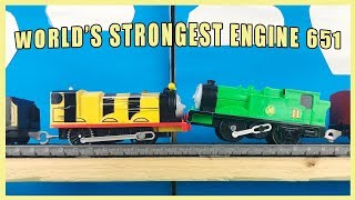 Download THOMAS AND FRIENDS The World's Strongest Engine 651 Video