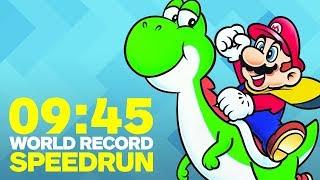 Download Super Mario World Finished In Under 10 Minutes (Speedrun) Video