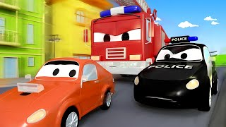 Download Tiệc sinh nhật bất ngờ của Frank - đội xe tuần tra 🚓 🚒 những bộ phim hoạt hình về xe tải Video