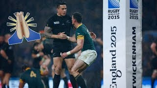 Download Moments Of Respect In Rugby Video