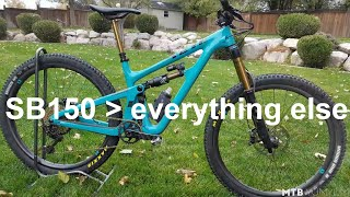 Download 2019 Yeti Cycles SB150 Test Ride & Review Video