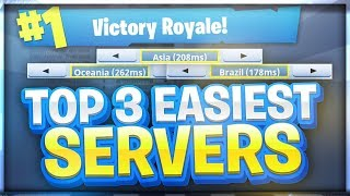 Download EASIEST SERVERS TO GET WINS ON - FORTNITE BATTLE ROYALE Video