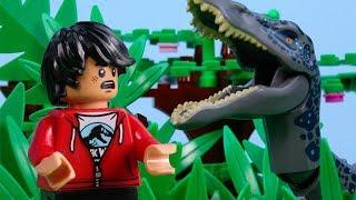 Download LEGO Jurassic World STOP MOTION LEGO Baryonyx Attack | LEGO Jurassic World | By Billy Bricks Video