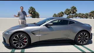 Download The 2019 Aston Martin Vantage Is a $185,000 True Sports Car Video
