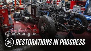 Download Jay's Restoration Projects in Progress - Jay Leno's Garage Video