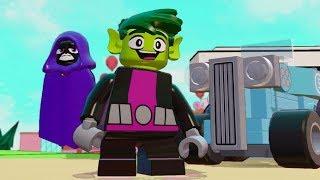 Download LEGO Dimensions - Beast Boy (Teen Titans Go!) Free Roam Gameplay Video