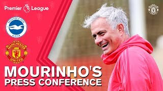 Download Jose Mourinho Delighted with Pogba Contribution | Press Conference | Brighton v Manchester United Video