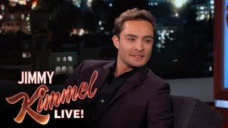 Download Ed Westwick's First Time in America Video