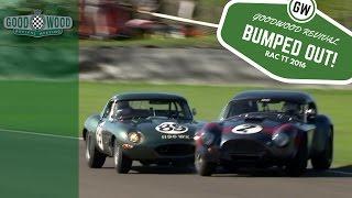 Download AC Cobra loses lead after Jaguar E-Type bump Video