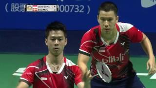 Download Thaihot China Open 2016 | Badminton F M3-MD | Gid/Suk vs Boe/Mog Video