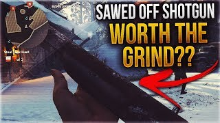 Download SAWED-OFF SHOTGUN: EXPEDITIONARY PRESTIGE UNLOCK WEAPON in COD WWII! – Is It Any Good? Video
