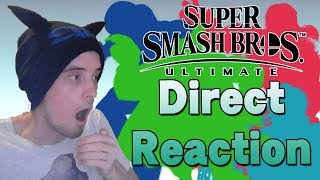 Download LIVE REACTION!? SMASH BROS. ULTIMATE DIRECT! [8th of August] - FIVE NEW CHARACTERS!? Video