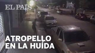 Download Un ladrón es atropellado por sus compañeros de robo cuando huían de los agentes | Viral Video
