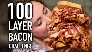 Download 100 LAYERS OF BACON!!! Video