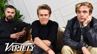 Download 'The Lighthouse' Stars Robert Pattinson and Willem Dafoe Had Fun Beating Each Other Up Video