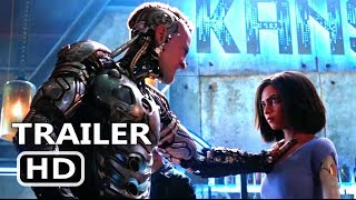 Download ALITA BATTLE ANGEL Official Trailer (2018) James Cameron Sci Fi Movie HD Video