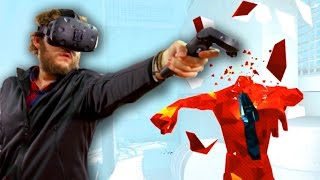 Download VR SUPERHOT - Slow Motion Ninjas Video