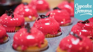 Download Glazed Hibiscus & Vanilla Cupcake Recipe | Cupcake Jemma Video
