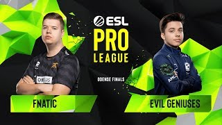 Download CS:GO - Fnatic vs. Evil Geniuses [Mirage] Map 1 - Group A - ESL Pro League Season 10 Finals Video