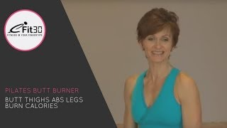 Download Pilates Butt Burner Full 30 minute workout - eFit30 Video