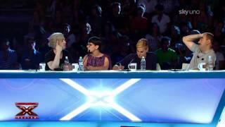 Download X Factor 5: concorrente contro Simona Ventura Video