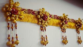 Download Designer Toran 16 / DIY /Bandarwal Video