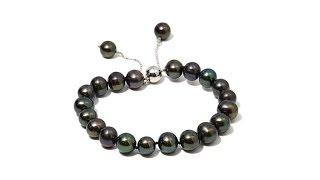 Download Imperial Pearls Black Cultured Pearl Bracelet Video