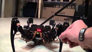 Download FREAKY Robot! Phoenix Hexapod Robot Video