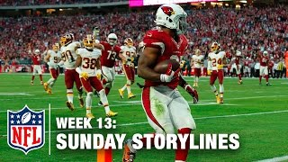 Download Sunday's Best (and Worst) Moments from Week 13 | Sunday Storylines | NFL Network Video