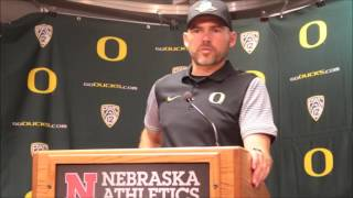Download Mark Helfrich post Nebraska Video