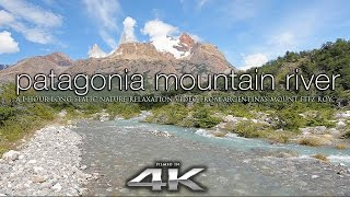 Download PERFECT 4K Scene: Patagonia Mountain River | Fitz Roy Argentina Nature Relaxation UHD Video