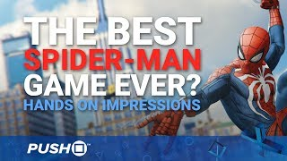 Download Marvel's Spider-Man PS4 Hands On: The Best Spider-Man Game Ever?   PlayStation 4   PS4 Pro Gameplay Video