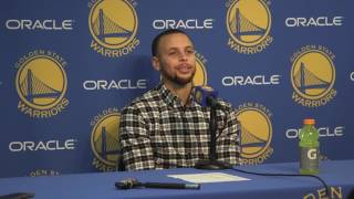 Download Curry on Westbrook walking with the ball: 'I guess the limit is six steps' Video